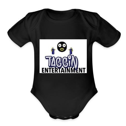 Taggin - Organic Short Sleeve Baby Bodysuit