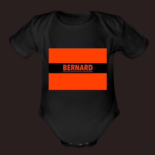 BERNARD - Organic Short Sleeve Baby Bodysuit