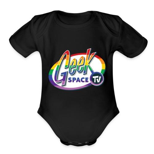 GSTV Pride Logo - Organic Short Sleeve Baby Bodysuit