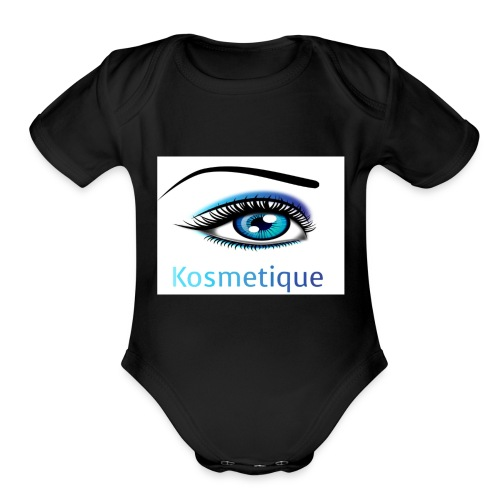 Kosmetique - Organic Short Sleeve Baby Bodysuit