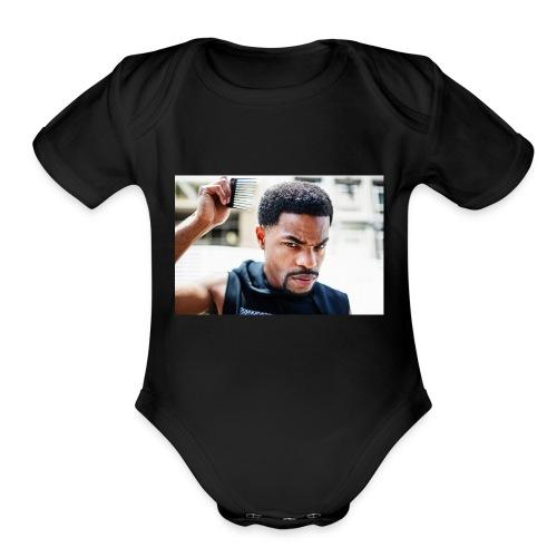 King Bach - Organic Short Sleeve Baby Bodysuit