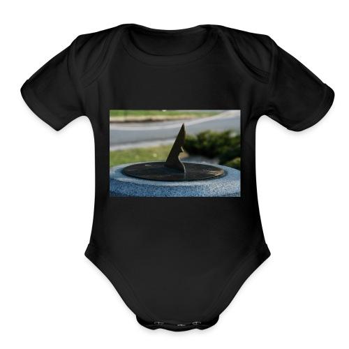 sun diel - Organic Short Sleeve Baby Bodysuit