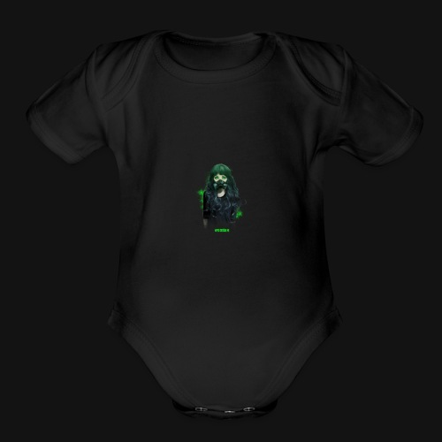 Infected_SP_Edition - Organic Short Sleeve Baby Bodysuit