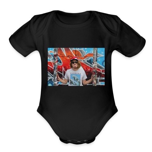 The Graffiti Collection - Organic Short Sleeve Baby Bodysuit