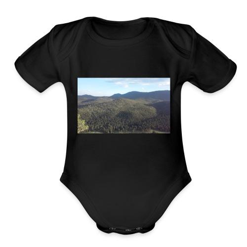 bp - Organic Short Sleeve Baby Bodysuit