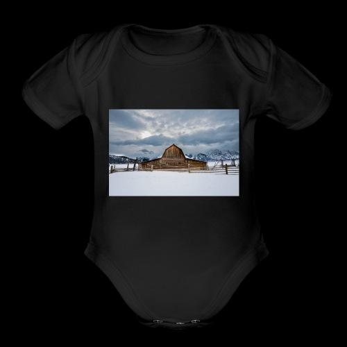 Barn - Organic Short Sleeve Baby Bodysuit