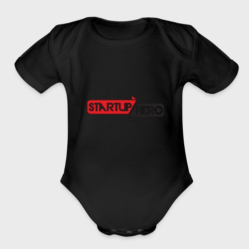 startup hero - Organic Short Sleeve Baby Bodysuit
