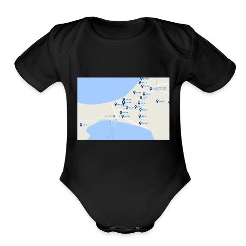 hEy - Organic Short Sleeve Baby Bodysuit