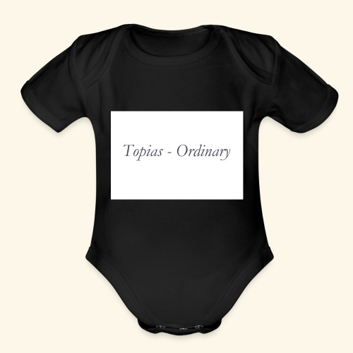 Ordinary - Organic Short Sleeve Baby Bodysuit