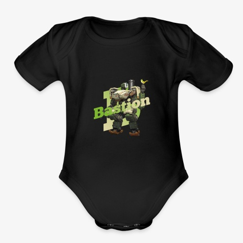 Bastion - Organic Short Sleeve Baby Bodysuit