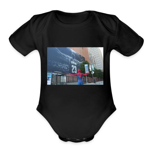 08F82E48 9C6F 4A56 B728 8F6AA590F0EA - Organic Short Sleeve Baby Bodysuit