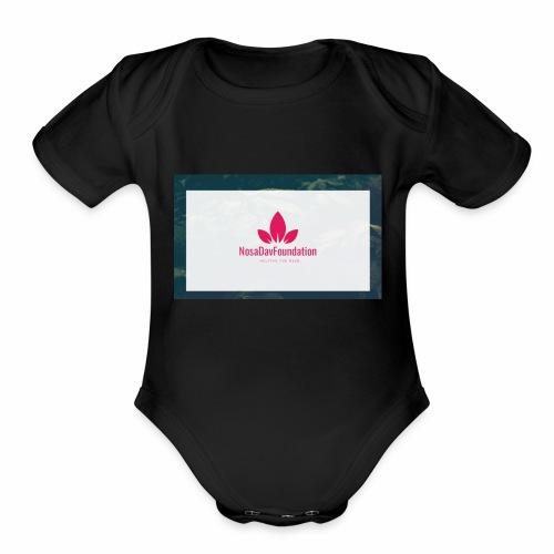 NosaDavFoundation - Organic Short Sleeve Baby Bodysuit
