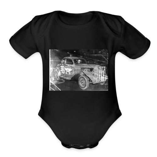 OLD SCHOOL RACING - Organic Short Sleeve Baby Bodysuit