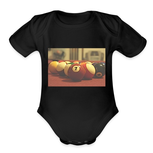 Pool Time - Organic Short Sleeve Baby Bodysuit
