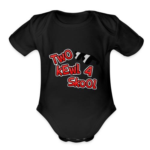 FotorCreated-bell - Organic Short Sleeve Baby Bodysuit