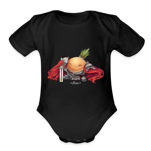 Onion Knights - Women's T - Organic Short Sleeve Baby Bodysuit