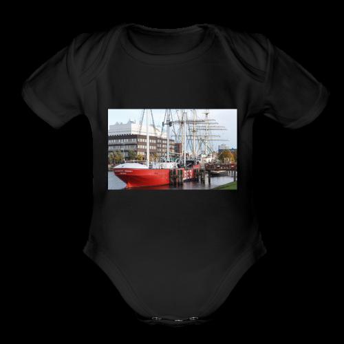 Wilhelmshaven - Organic Short Sleeve Baby Bodysuit