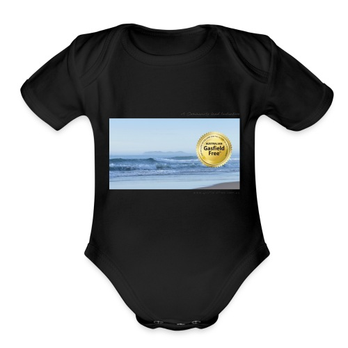 Beach Collection 1 - Organic Short Sleeve Baby Bodysuit