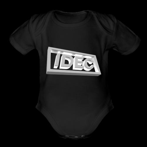 3D IDEC Logo - Organic Short Sleeve Baby Bodysuit