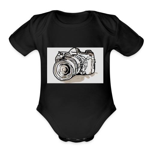 I VLOG Bro - Organic Short Sleeve Baby Bodysuit