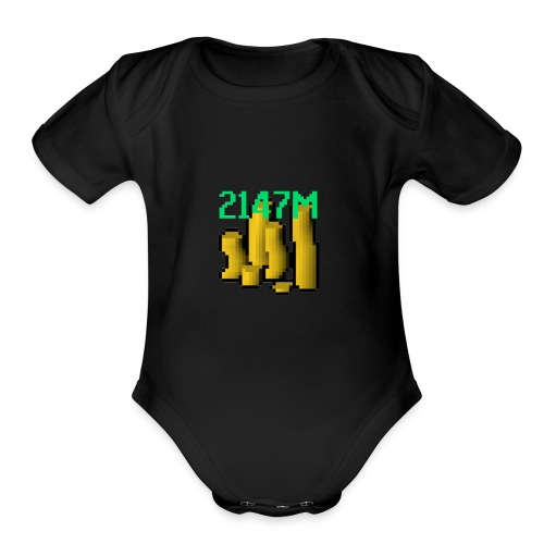 Max Stack - Organic Short Sleeve Baby Bodysuit