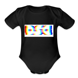 Deathstreakgaming logo - Short Sleeve Baby Bodysuit