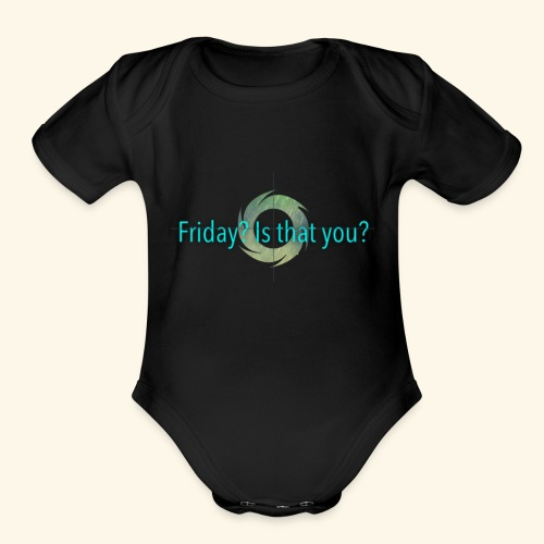 Friday - Organic Short Sleeve Baby Bodysuit