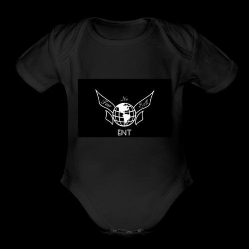 Fear No Evil baby gear - Organic Short Sleeve Baby Bodysuit