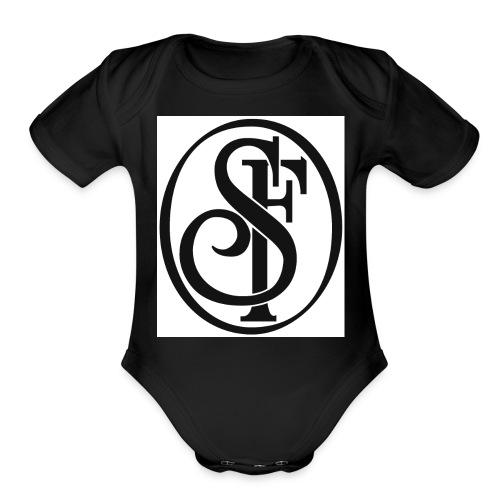 Designer T-Shirt - Organic Short Sleeve Baby Bodysuit