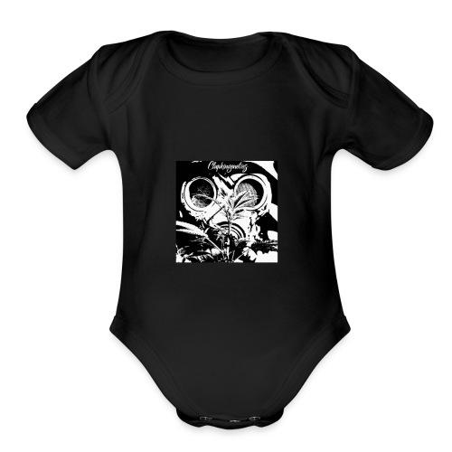 Clapkingenetics - Organic Short Sleeve Baby Bodysuit