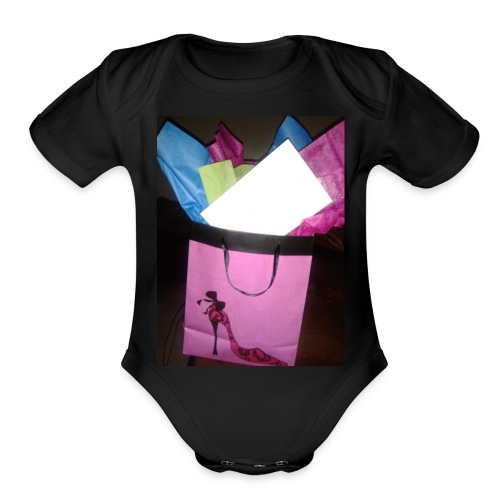 Mother's b-day - Organic Short Sleeve Baby Bodysuit