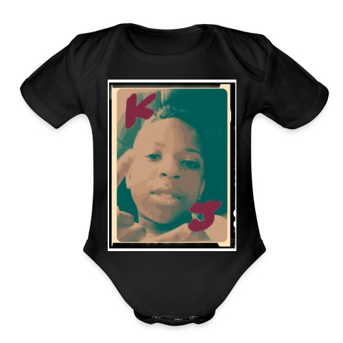 KJ so cool - Organic Short Sleeve Baby Bodysuit