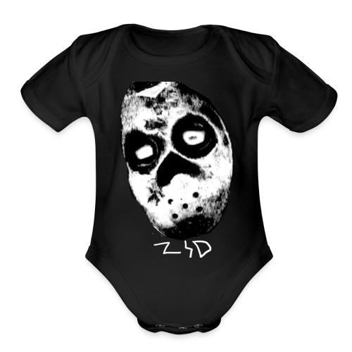 Logo YT - Organic Short Sleeve Baby Bodysuit