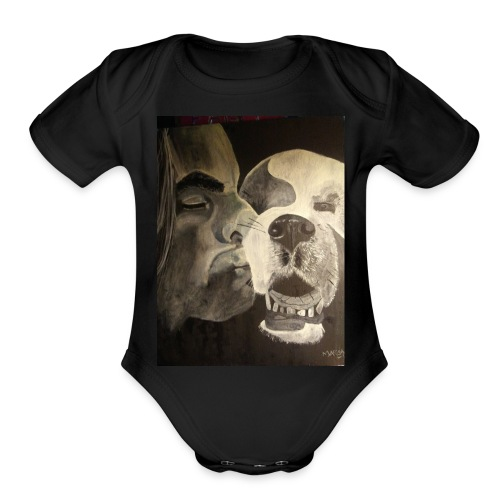 Mike Decker & Stoney Bear - Organic Short Sleeve Baby Bodysuit