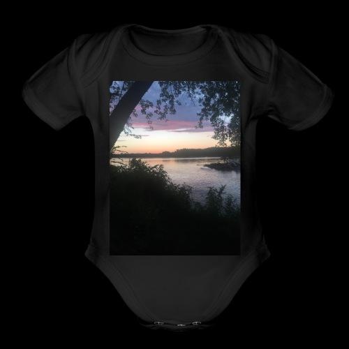 Lake - Organic Short Sleeve Baby Bodysuit