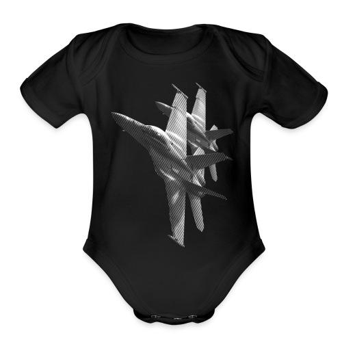 F/A-18 Hornet - Organic Short Sleeve Baby Bodysuit