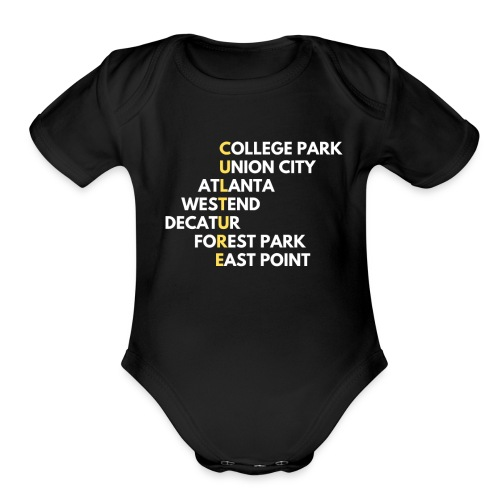 Culture Atlanta - Organic Short Sleeve Baby Bodysuit