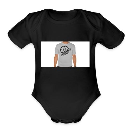 bmx_poleras - Organic Short Sleeve Baby Bodysuit