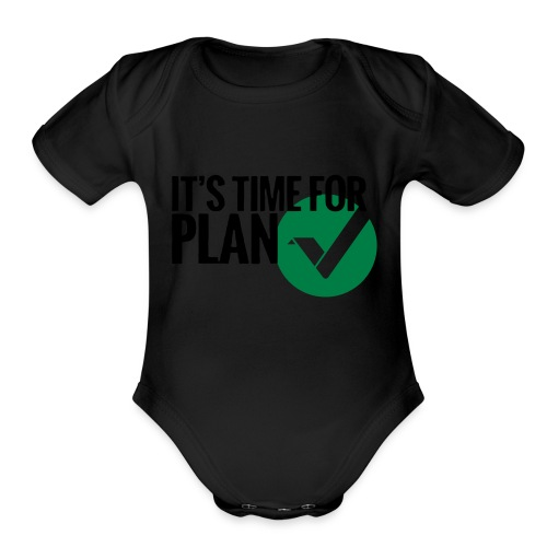 Time for Plan V(ertcoin) - Organic Short Sleeve Baby Bodysuit