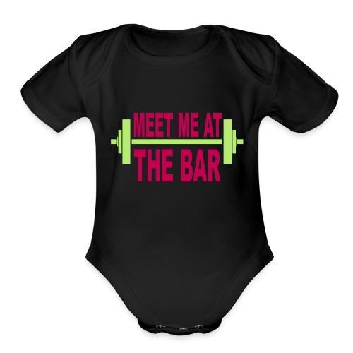 meet_me_at_the_bar_2_spreadsheet - Organic Short Sleeve Baby Bodysuit