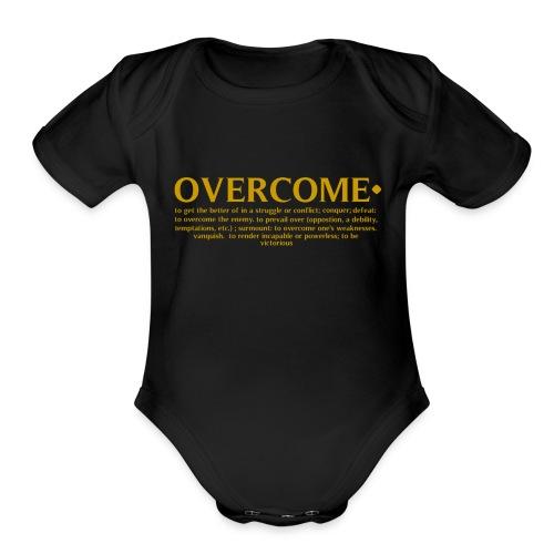 Overcome the Definition - Organic Short Sleeve Baby Bodysuit