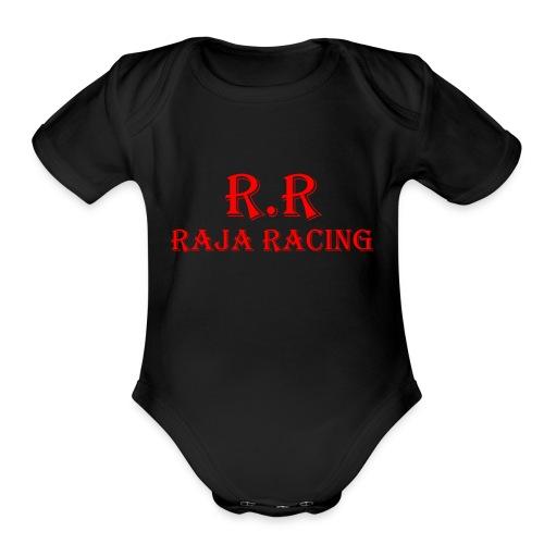 R.R Raja Racing - Organic Short Sleeve Baby Bodysuit