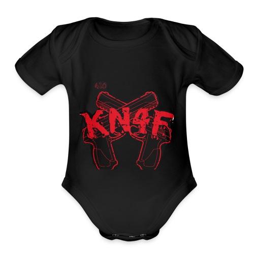 KN4F - Organic Short Sleeve Baby Bodysuit