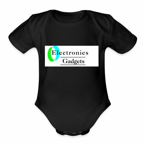 Electronic Gadgets - Organic Short Sleeve Baby Bodysuit