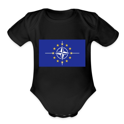North Atlantic Treaty Union - Organic Short Sleeve Baby Bodysuit