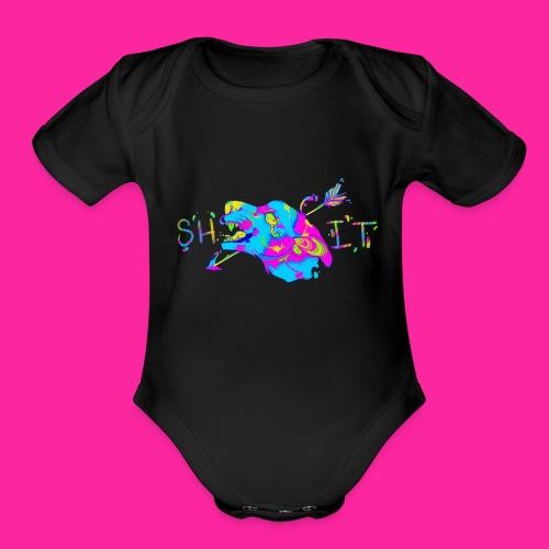 S H I T - CYM Series - Organic Short Sleeve Baby Bodysuit