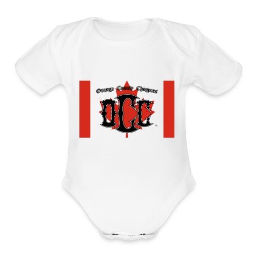 OCC Canada - Organic Short Sleeve Baby Bodysuit