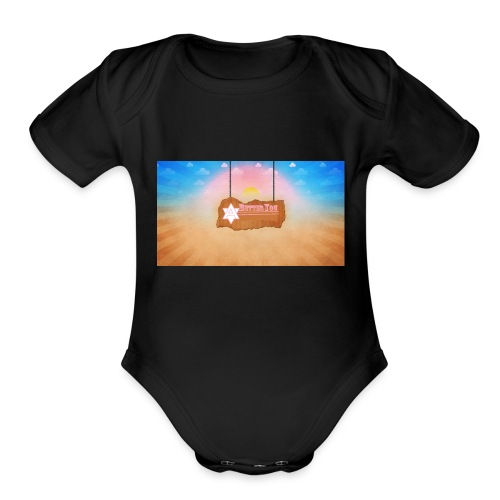 A Better You Logo - Organic Short Sleeve Baby Bodysuit