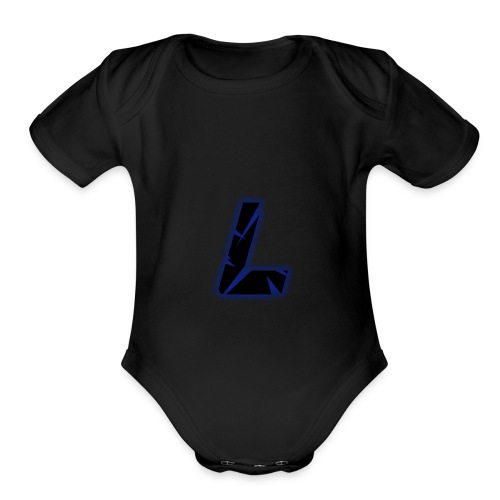 L - Organic Short Sleeve Baby Bodysuit