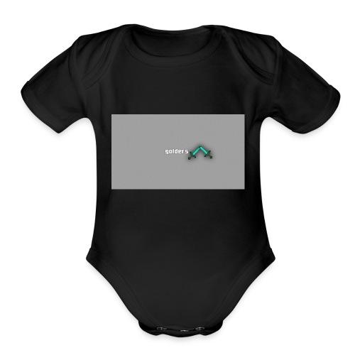 backgrounder-3- - Organic Short Sleeve Baby Bodysuit